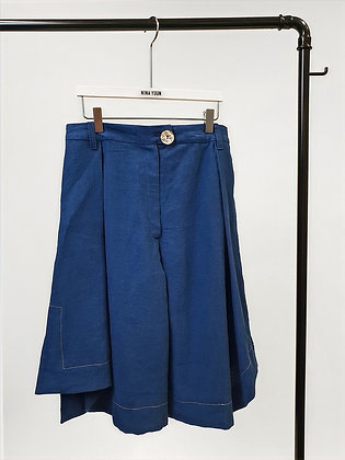 Lotus Shorts Blue
