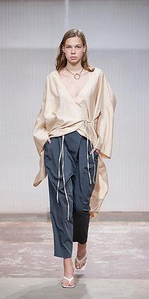 PREORDER* Air Wrap Dress Beige