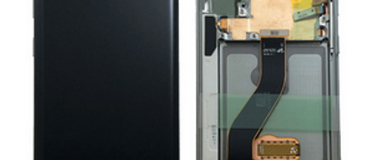 SM-N970 Galaxy Note 10 LCD / Touch Module / Frame Silver GH82-20818C