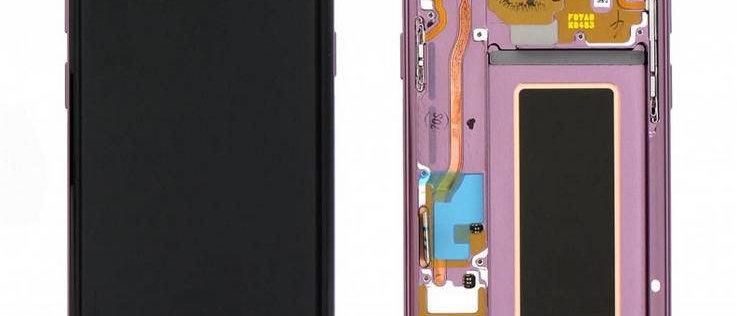 SM-G960F Galaxy S9 LCD / Touch Module / Frame Purple GH97-21696B