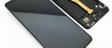 SM-A920 Galaxy A9 LCD / Touch Module / Frame Black GH82-18308A