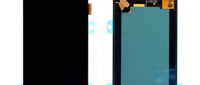 SM-J320F Galaxy J3 LCD / Touch Module / Frame Black GH97-18414C