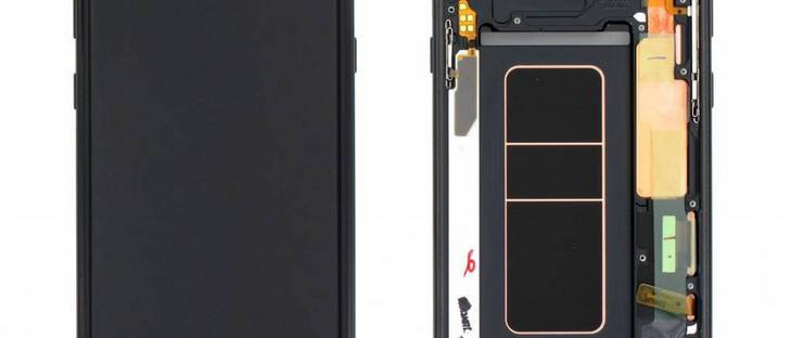 SM-N960 Galaxy Note 9 LCD / Touch Module / Frame Black GH97-22269A