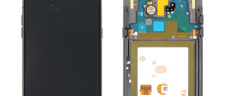 SM-A805F A80 LCD / Touch Module / Frame Black GH82-20348A
