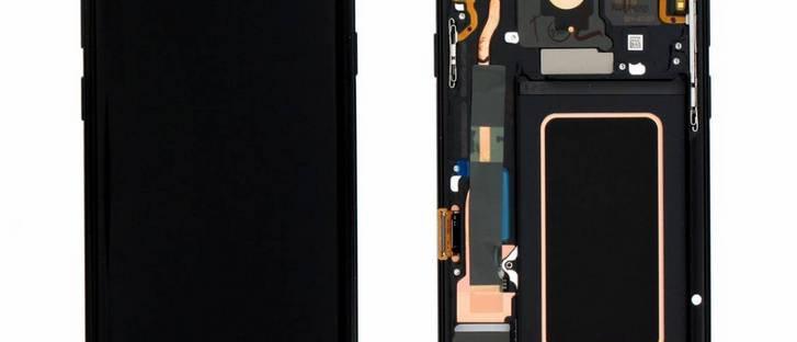 SM-G965F Galaxy S9+ LCD / Touch Module / Frame Black GH97-21691A
