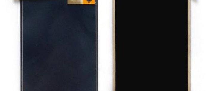 SM-J710F Galaxy J7 LCD / Touch Module / Frame Gold GH97-18855A