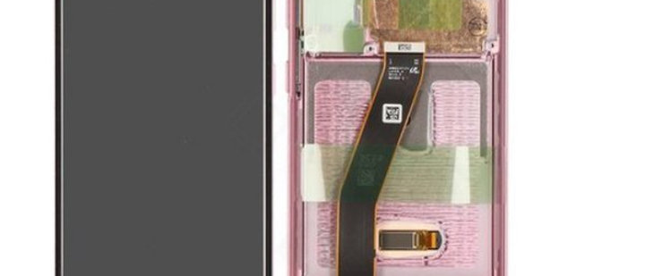 SM-G980F Galaxy S20 LCD / Touch Module / Frame Pink GH82-22123C/31C