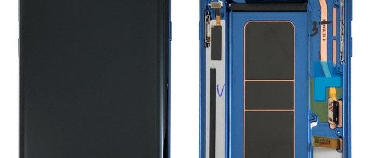 SM-N950 Galaxy Note 8 LCD / Touch Module / Frame Blue GH97-21065B