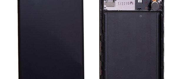 SM-A307F A30s LCD / Touch Module / Frame Black GH82-21190A