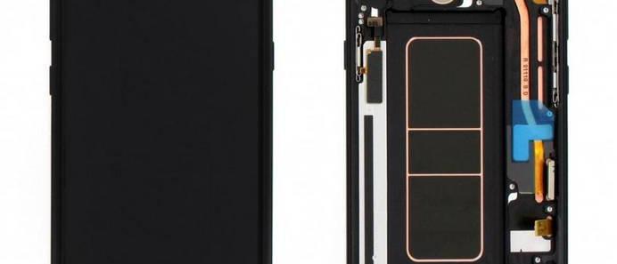 SM-N950 Galaxy Note 8 LCD / Touch Module / Frame Black GH97-21065A