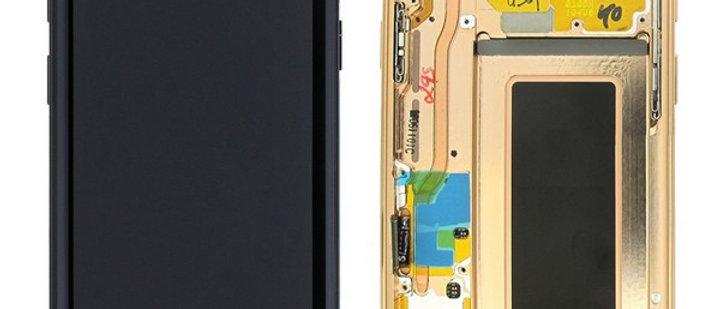 SM-G960F Galaxy S9 LCD / Touch Module / Frame Gold GH97-21696E