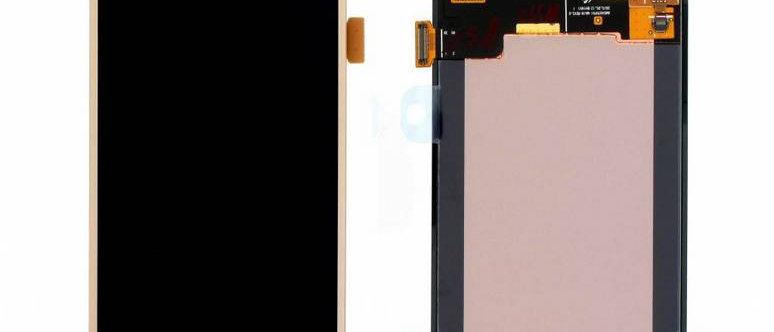 SM-J500 Galaxy J5 LCD / Touch Module / Frame Gold GH97-17667C