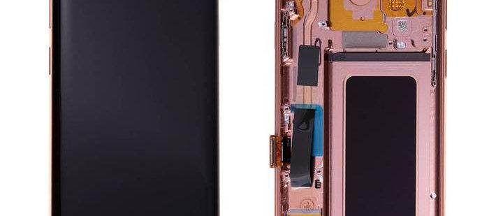 SM-G965F Galaxy S9+ LCD / Touch Module / Frame Gold GH97-21691E