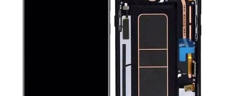 SM-A715F A71 LCD / Touch Module / Frame Black GH82-22152A