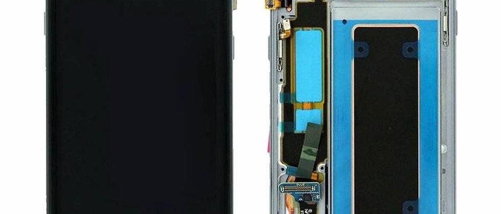 SM-G935F Galaxy S7 Edge LCD / Touch Module / Frame Black GH97-18533A