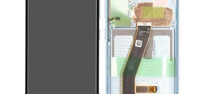 SM-G980F Galaxy S20 LCD / Touch Module / Frame Blue GH82-22123D/31D