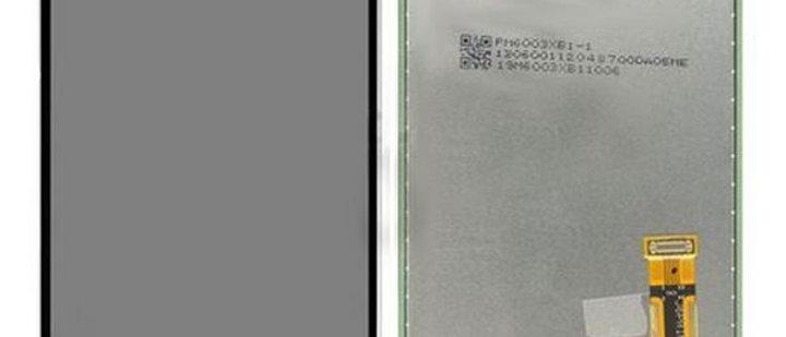 SM-J610F Galaxy J6+ LCD / Touch Module / Frame Black GH97-22582A