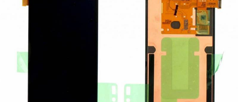 SM-J120F Galaxy J1 LCD / Touch Module / Frame Black GH97-18224C