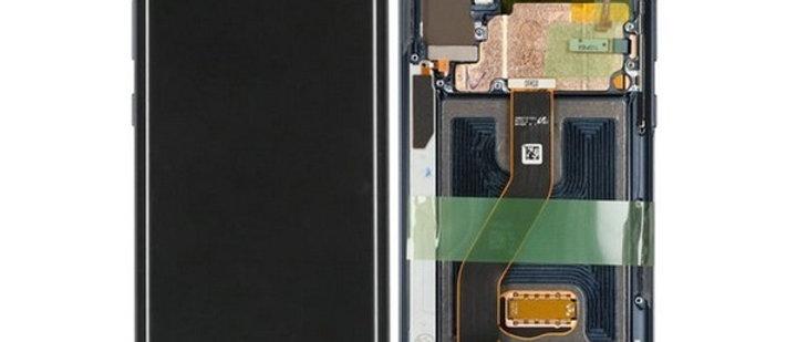 SM-N975 Galaxy Note 10 Plus LCD / Touch Module / Frame Black GH82-20838A