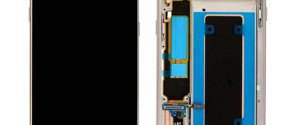 SM-G935F Galaxy S7 Edge LCD / Touch Module / Frame Gold GH97-18533C
