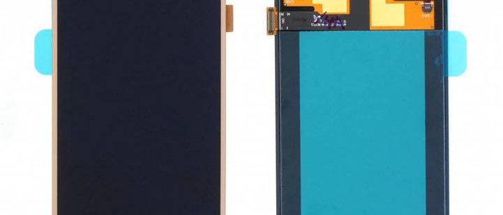 SM-J700F Galaxy J7 LCD / Touch Module / Frame Gold GH97-17670B