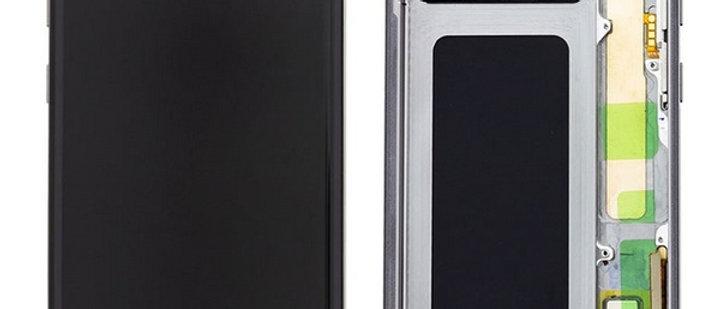 SM-G975F Galaxy S10+ LCD / Touch Module / Frame Black GH82-18849A