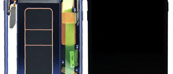 SM-N960 Galaxy Note 9 LCD / Touch Module / Frame Blue GH97-22269B