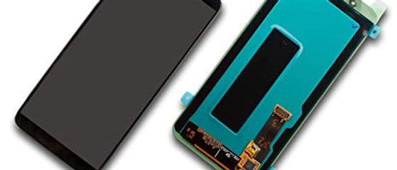 SM-J600F Galaxy J6 LCD / Touch Module / Frame Black GH97-21931A
