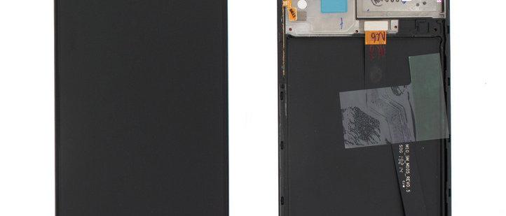 SM-A105F A10 LCD / Touch Module / Frame Black GH82-20227A