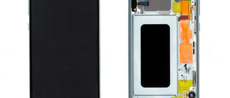 SM-G970F Galaxy S10e LCD / Touch Module / Frame Green GH82-18852E