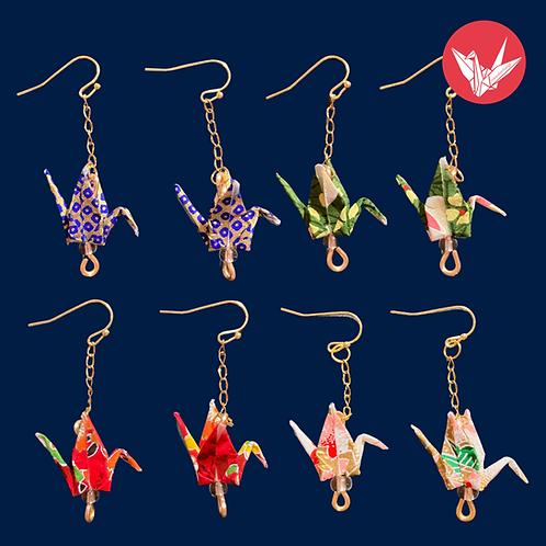 Chain Crane Earrings
