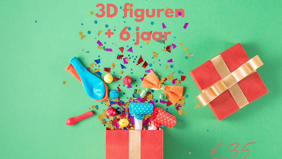 """Knutselpakket """"3D figuren"""""""