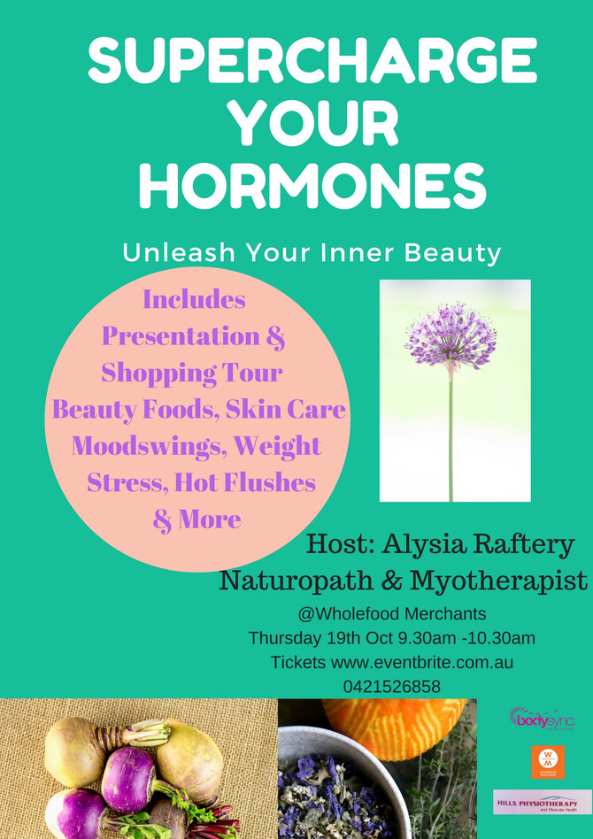 Supercharge your hormones & Unleash your Inner Beauty