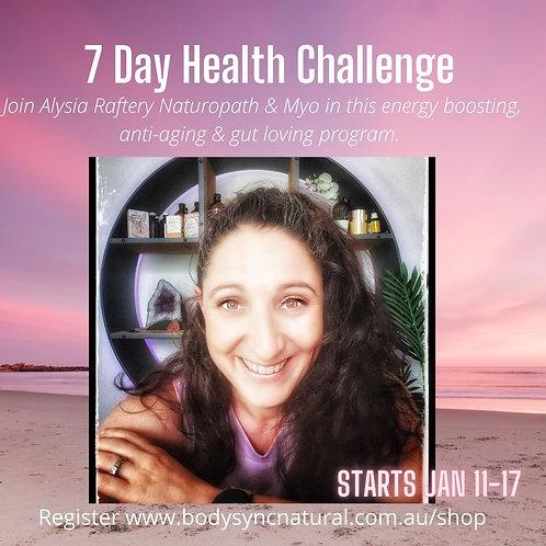 7 Day Health Challenge