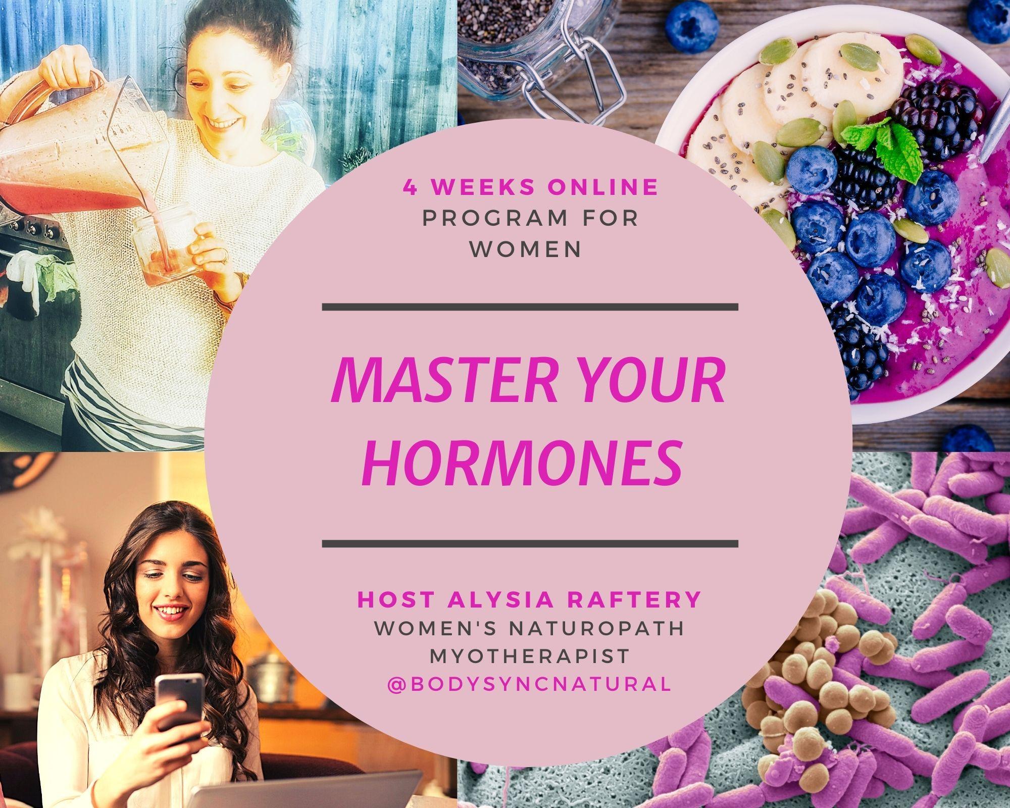 Master Your Hormones Group Program