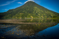A calm morning on Lake Atitlan