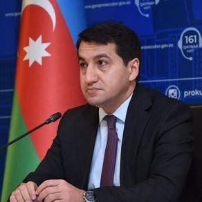 Ermənistan fərq qoymadan mülki vətəndaşları hədəfə alıb - Hikmət Hacıyev