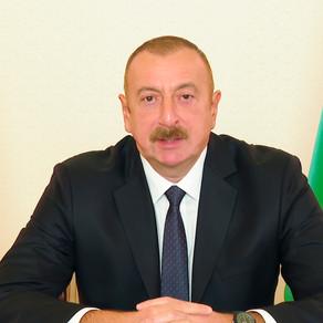 Prezident İlham Əliyev xalqa müraciət edib