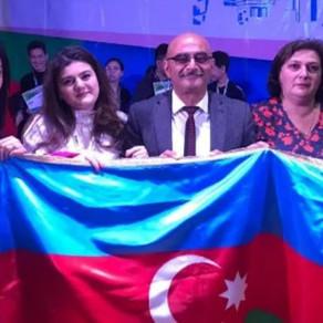 Azərbaycanlı Məktəblilər Beynəlxalq Müsabiqədə Qalib Gəldilər – FOTO