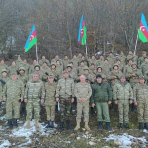 Kəlbəcərli veteranlar daim ordumuzun yanında olublar