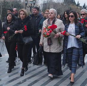 """""""Srebranitsa anaları"""" """"Ana harayı"""" abidəsini ziyarət etdilər - FOTOLAR"""