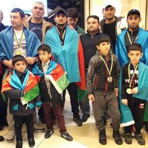 İdmançılarımız döyüş sənəti üzrə dünya çempionatında 13 medal qazanıb