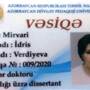 Azərbaycanda coğrafiyanın tədrisi metodikası üzrə elmlər doktoru - KƏLBƏCƏRLİ İLK OLDU