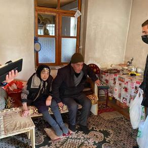 ''AŞIQ ŞƏMŞİR'' mədəniyyət ocağı ictimai birliyi növbəti xeyriyyə aksiyası keçirib - FOTOLAR
