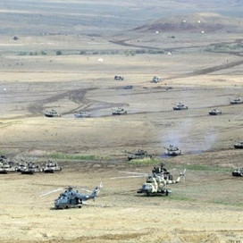 Aprel döyüşlərində Azərbaycan Ordusunun azad etdiyi ərazilər - XƏRİTƏ