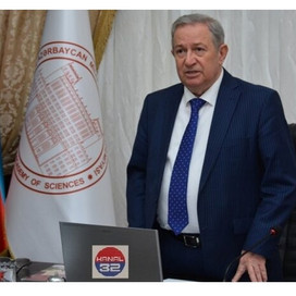 Kəlbəcərli alim AMEA-nın birinci vitse-prezidenti seçildi