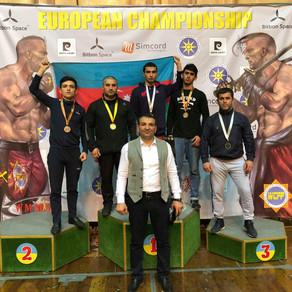 İdmançılarımız Avropa çempionatından beş medalla qayıtdılar -FOTOLAR