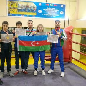 Savatçılarımız Tbilisidəki beynəlxalq turnirdə medallar qazanıb