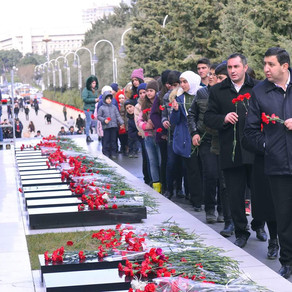 20 Yanvar Şəhidləri yad edildi.