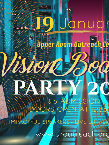 Upper Room 2019 Vision Board Party
